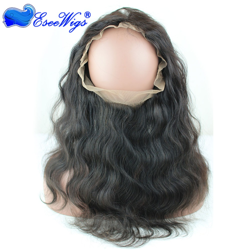 New Style 360 Lace Frontal Closure 360 22x4x2 Virgin Human Hair 360 Lace Frontal In Stock