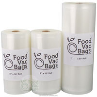 Food Storage Bag Embossed Vacuum Sealer Bags Rolls