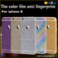 innovative products wholesale Glitter Stickers case for iphone 6, glitter case for iphone 6