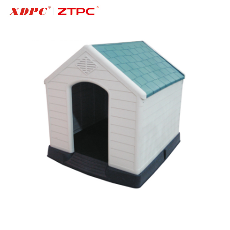Simple designed eco-friendly plastic luxury dog kennel big dog cage and house
