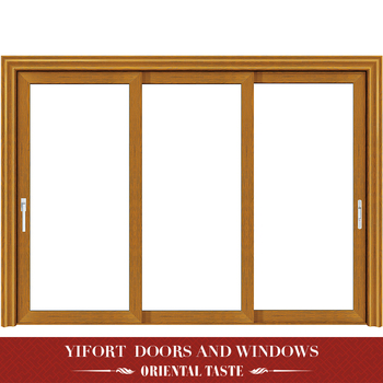 high quality living room aluminum glass door and window frame