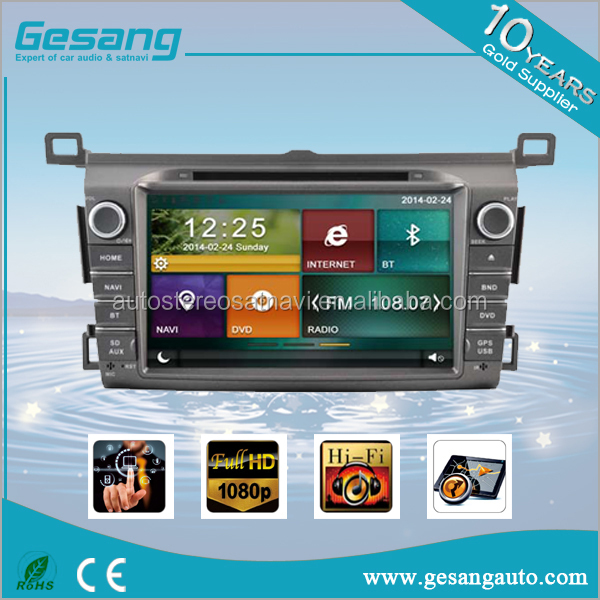 Auto radio car dvd gps navigation with bluetooth 3G/WIFI for TOYOTA RAV 2013-2014