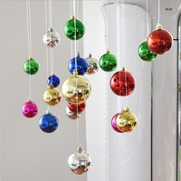 Glitter Christmas Balls Baubles Xmas Tree Hanging Ornament Christmas Decor