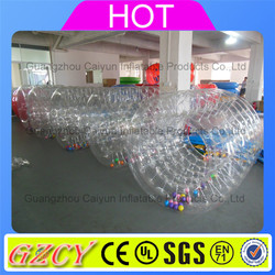 Outdoor pool water roller, inflatable water wheel, lake inflatable water roller