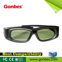 Universal 3d video glasses shutter 3d glasses for IR 3d TV