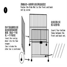 Hot Selling Dog Cage ,Wire Mesh Dog Crate , Dog Cage Wholesale