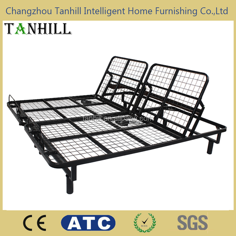 Electric adjustable bed frame manufacturer for bedroom