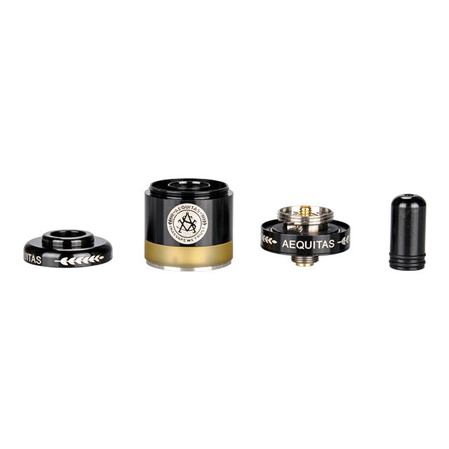 Hottest Products Zeta Mtl Rta Single Coil Vape Atomizer E-Cigarettes