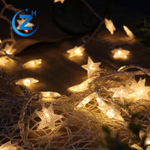 Cheap price color changing christmas outdoor garden string led decorative party lights solar
