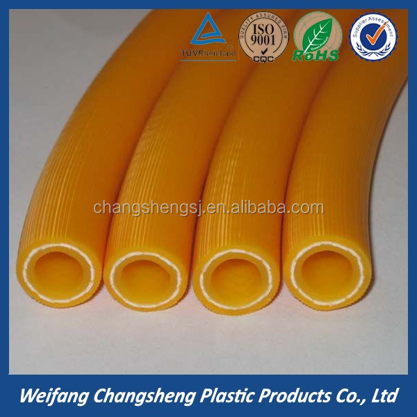 3 Layers Fiber Reinforced PVC Gas Hose for Gas Cooker