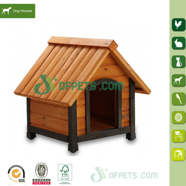 China supplies classical design wooden dog kennel
