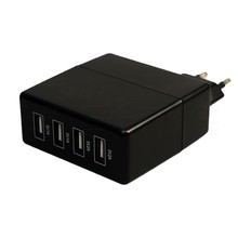 Mobile phone 4 port 5V 1A 2A multi USB fast charger