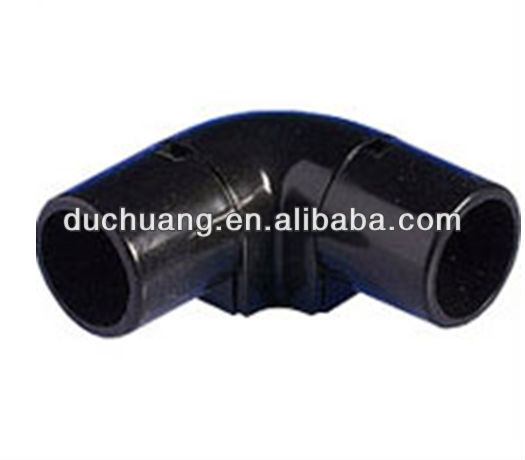20mm Black Galvanised PVC Inspection Elbows