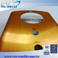 Protective anodized aluminum custom cell phone cover maker
