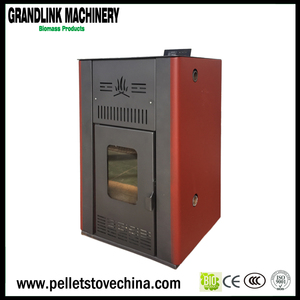 Hydro Water Heating pot belly pellet stove