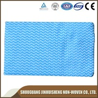 Nonwoven fabric kitchen wipes/cleaning nonwoven cloth/lint free dust cloth--Cleaning products