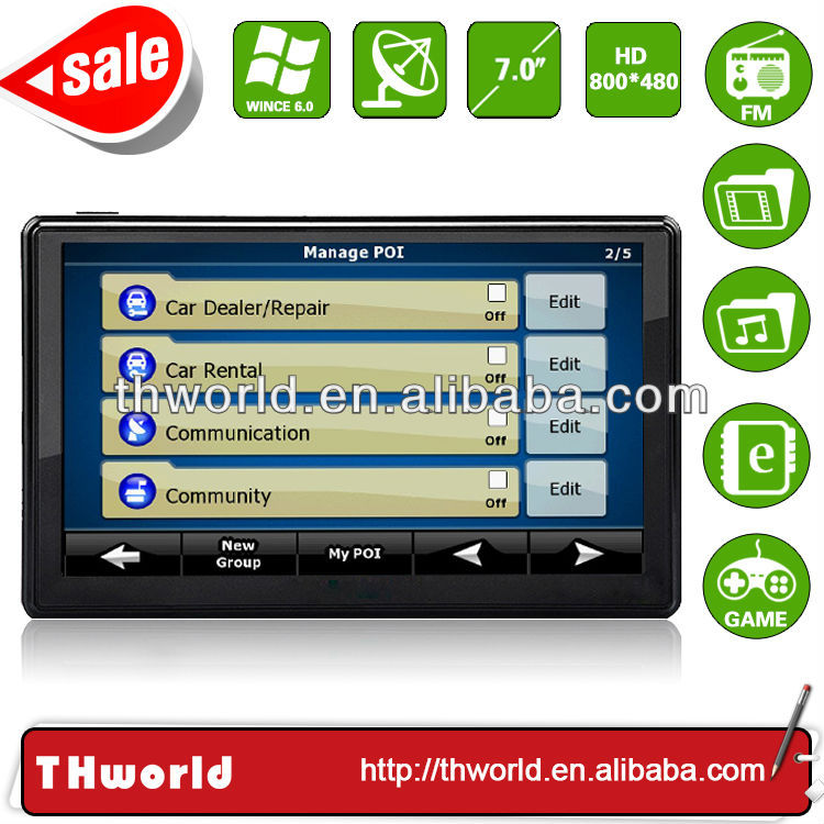 2014 Wholesale Checkout 7 inch nissan altima touch screen navigation with 800MHz CPU 4GB Memory only $33
