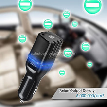 HSC018 car perfum bottles hanging car air freshener dual usb ports car charger