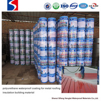 polyurethane waterproof coating for metal roofing insulation building material