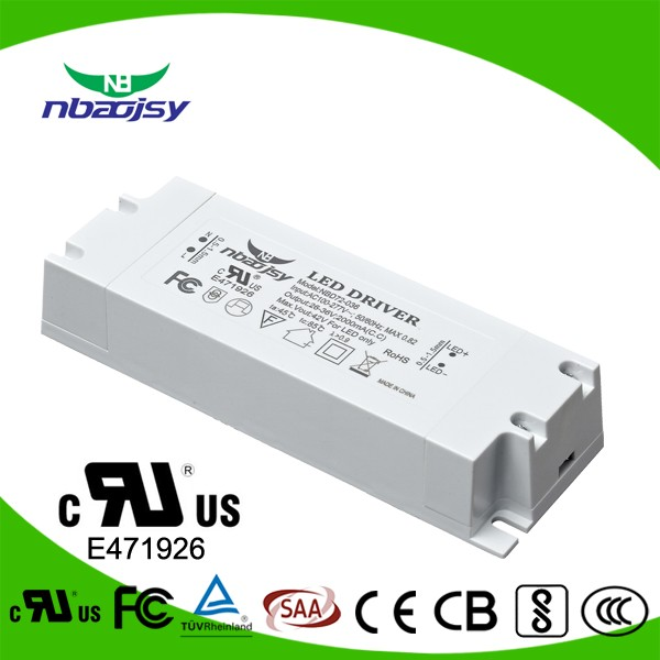 Single Output Type and 65w output power led the lamp driver