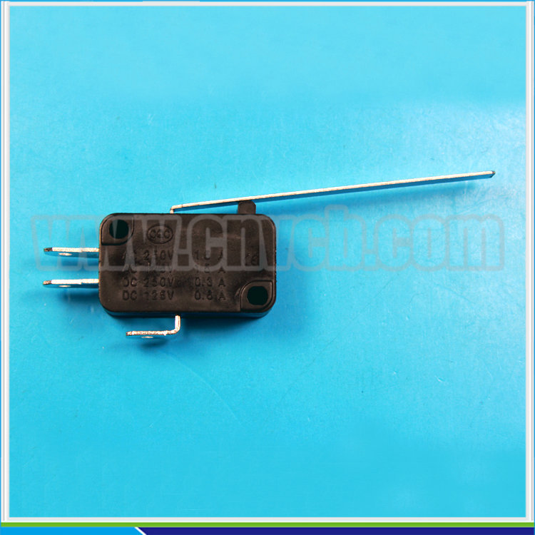 M21 KW7-9 super long lever 3 solder terminal Micro Switch / lever micro switch