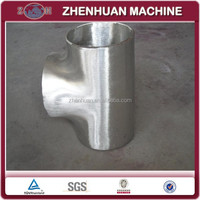 Stainless Steel Pipe Fittings---Equal Tee For Water Conservancy