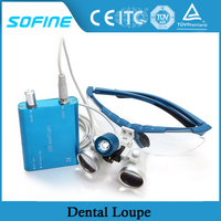 SF-DL05 New Design dental LED loupe magnifier magnifying glasses dental and surgical loupes