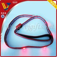 2014 Hot sales led flashing remote dog collar