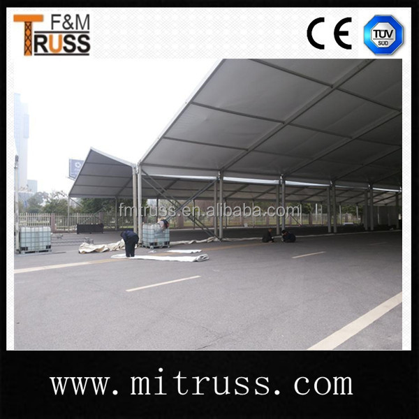 Outdoor fixed tent flashing tent