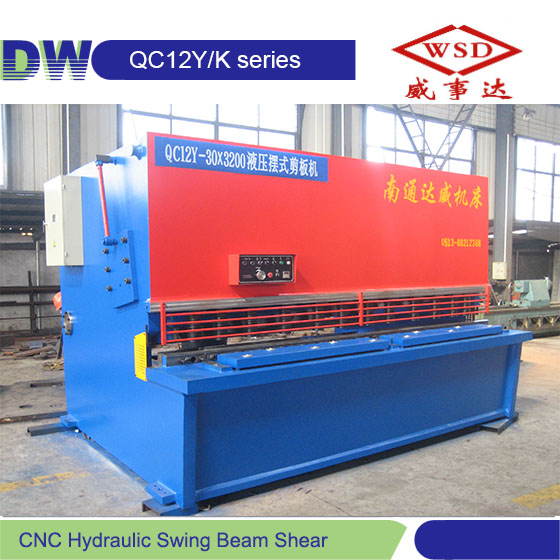 New QC12K 8mm 6000 metal hydraulic shear cutting machine in metal cutting machinery