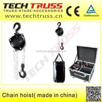 0.5 Ton KAWASAKI Chain Hoist Crane Widely use in Aluminum Truss System