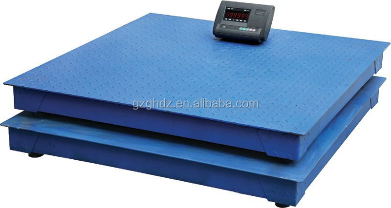 china supplier high precision weighbridge floor weight scales 5ton