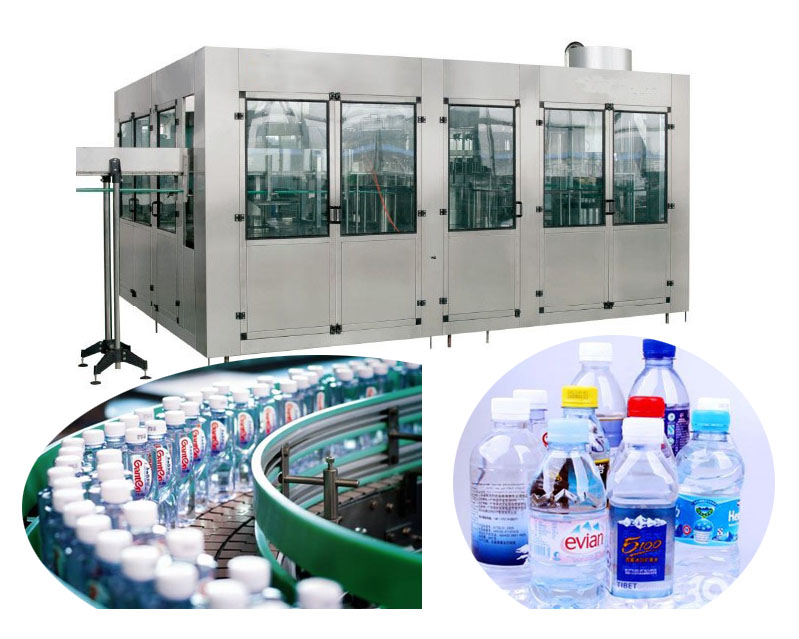 3000BPH Automatic Pure Water Bottling Plant
