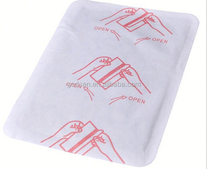 Hot personal care heating therapy patch,mini heat pack