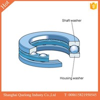 High rotating speed cylindrical thrust roller bearing for toyota minibus