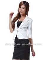ladies summer business suitBusiness suit half sleeve ladies dress suit
