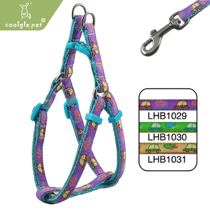 Fashion Printing Best Fiber Material Top Quality Working Harness for Pet Dog