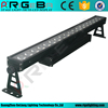 18x12w RGBWY+UN 6in1 outdoor IP 65 led wall washer light for building
