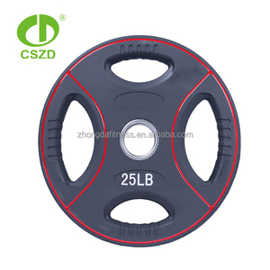 good quality custom logo 50kg weight plate
