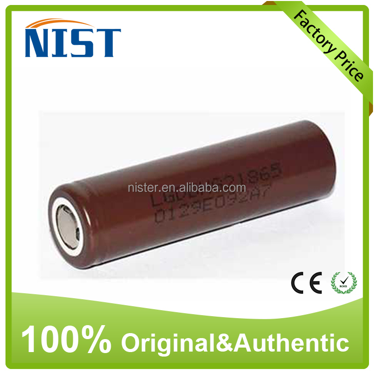 High Drain Korean HE2 HG2 30Q 25R 3.6V Rechargeable 18650 Li Ion Battery for Power Tools