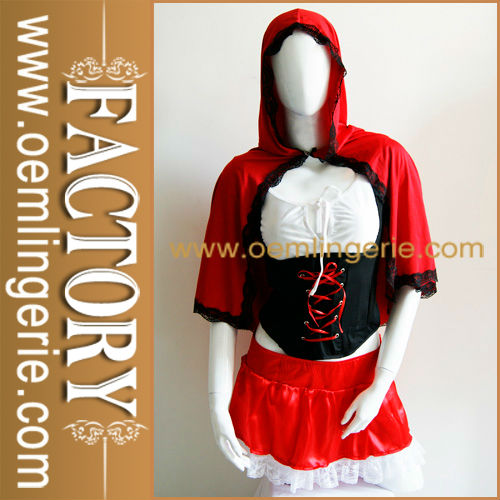 New arrival Fashion Red Hat Fairytales Costume