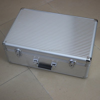 metal aluminum surface hard frame carrying cases for different purpose