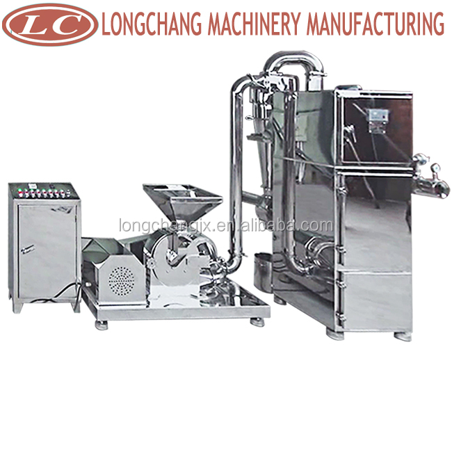 Sugar powder grinder mill machine
