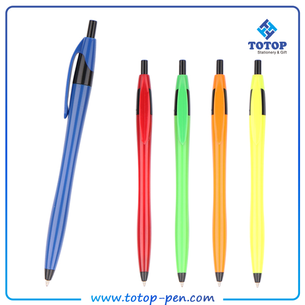hot style retractable ballpoint pen advertising pen