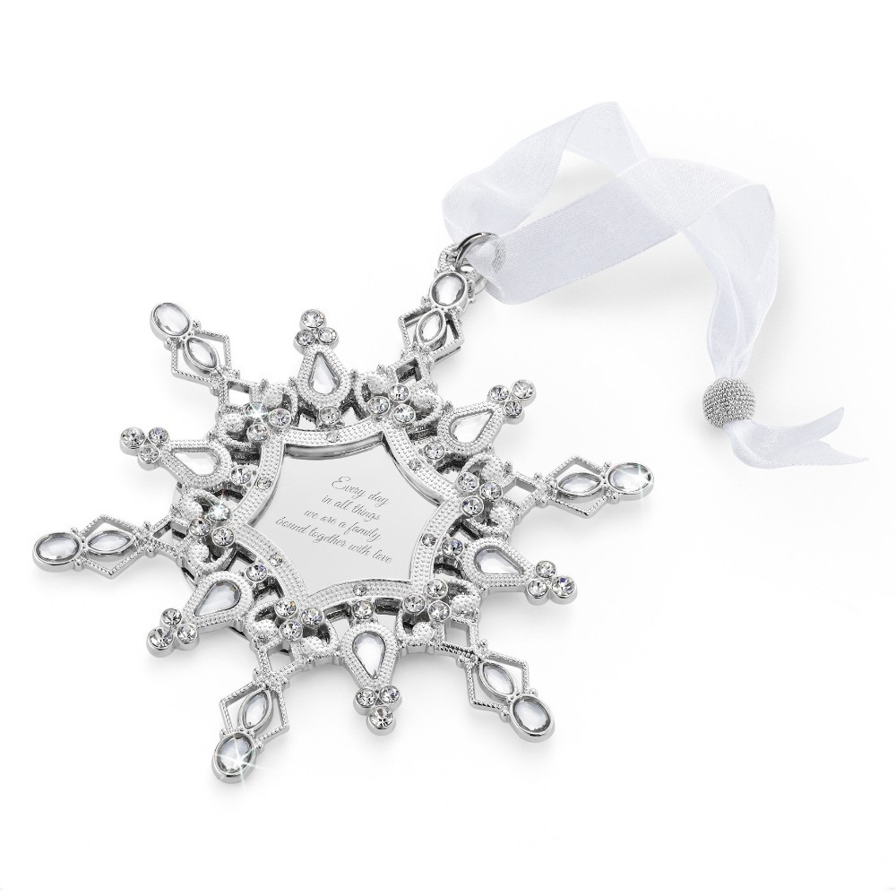 2015 Personalized Snowflake Ornament