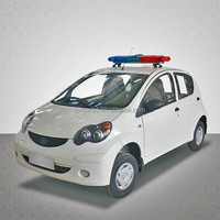 Electric security patrol car rechargeable cars in automobiles