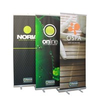 Advertising Portable Roll Up Banner Stand Display