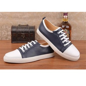 wholesale pure man leather shoes casual first class genuine cow leather men shoes