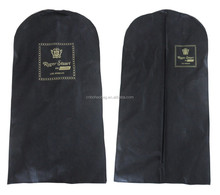Wholesale promotional foldable non woven suit cover,suit garment bag