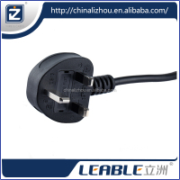 European hollow power pin plug and wall plug size